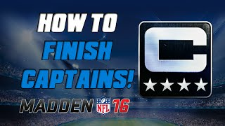 getlinkyoutube.com-How To Finish Captain Sets Quickly! | Madden 16 Ultimate Team - MUT 16 Tips ep. 3