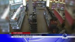 Hombre robó $800 en maquillaje en Fort Myers