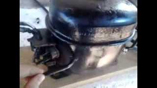 getlinkyoutube.com-compressor caseiro de motor de geladeira tutorial .