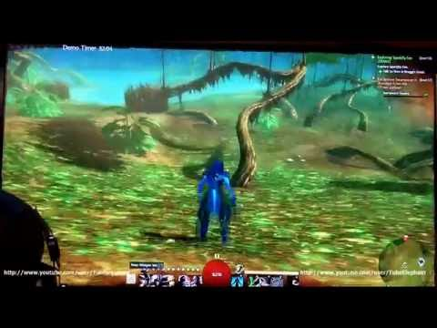 Guild Wars 2 - Pax Prime 2011: Sylvari Thief demo