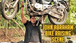 John Abraham Bike Raising Scene || Force Movie || Bollywood Fight Scene