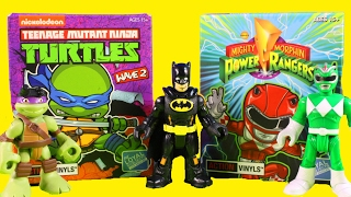 getlinkyoutube.com-Imaginext Superheroes Huge Surprise Blind Bag Toys Collection With Marvel TMNT And Power Rangers