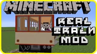 getlinkyoutube.com-[1.7.10] Real Train Mod showcase! | Japanese Minecraft mods.