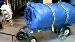 getlinkyoutube.com-Tips and Tricks for using Kids Attractions Heavy Duty Dollies, Heavy Duty Dolly for Inflatables