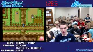 getlinkyoutube.com-Harvest Moon SNES :: SPEED RUN (02:27) *Live at #SGDQ 2013*