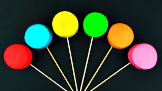 getlinkyoutube.com-Lollipop Play-Doh Surprise Eggs Minnie Mouse Lalaloopsy Cars 2 Thomas the Tank Engine Toys FluffyJet