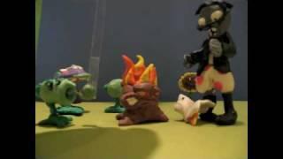getlinkyoutube.com-Plants vs zombies claymation