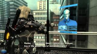 getlinkyoutube.com-Metal Gear Rising The Movie (Full Plathrough All Cutscenes)