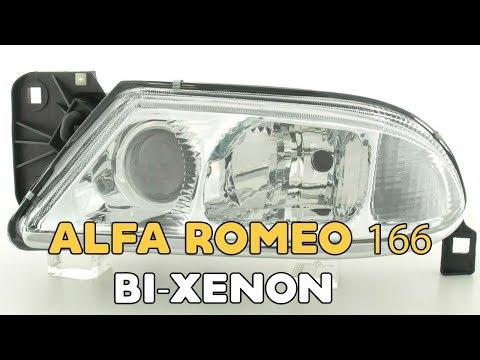 Alfa Romeo 166 Bi xenon projector installation | Alfa Romeo Headlight Upgrade