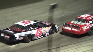 getlinkyoutube.com-2015 Rockford Speedway National Short Track Championship Big 8 Late Model Series Feature Highlights