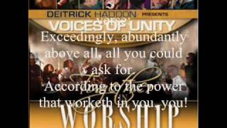 He's Able by Darwin Hobbs with Deitrick Haddon and the Voices of Unity