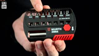 getlinkyoutube.com-Würth Impact Flex Bitbox screwdriver bit set [German]