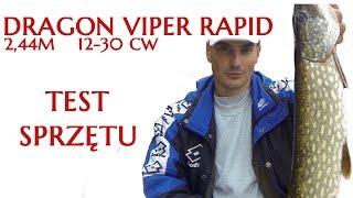 getlinkyoutube.com-Wędkarstwo spinningowe - Dragon Viper Rapid 30 - Opinia i test sprzętu