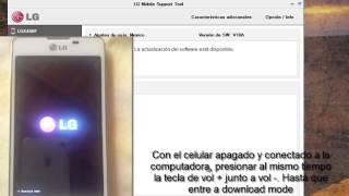 getlinkyoutube.com-Revivir cualquier LG con LG mobile support tool