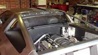 LS2 DeLorean First Drive