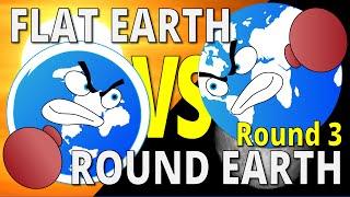 getlinkyoutube.com-SUN AND MOON PROOFS | Flat Earth vs Round Earth - Round 3