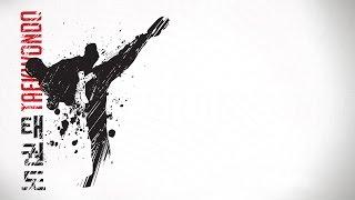 Taekwondo chutes faixa branca