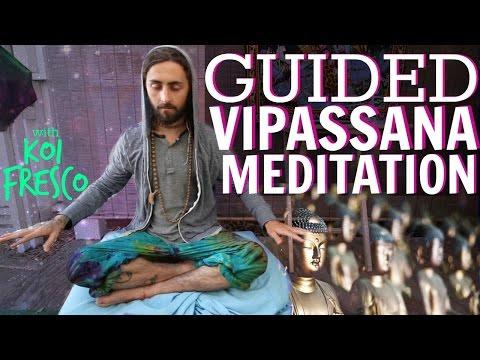 Guided Vipassana Meditation! (with Koi Fresco)
