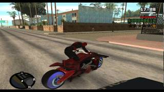getlinkyoutube.com-Gta San Andreas Spiderman Mod W.I.P v1.0