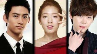 getlinkyoutube.com-Park Shin Hye with 2PM(Taecyeon) Vs Lee Jong Suk Kiss Sweet New 2015