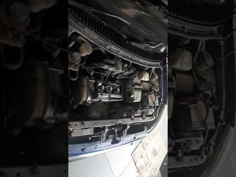 Где у Daihatsu Мира ремень грм