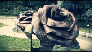 Парк кованых фигур в Донецке