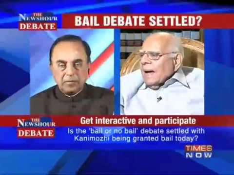 Part 2/2 - Subramanian Swamy vs Ram Jethmaani debate