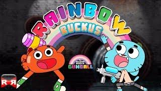 getlinkyoutube.com-Gumball Rainbow Ruckus (By Turner EMEA) - iOS / Android - Gameplay Video