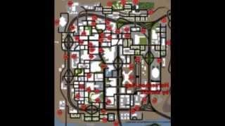 Objetos ocultos en GTA San Andreas