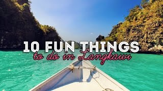 10 Fun Things and Activities to do in Langkawi, Malaysia #GoPro
