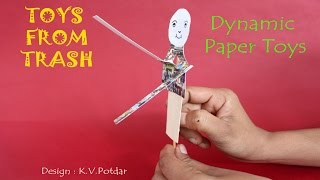 Dynamic Paper Toys    English