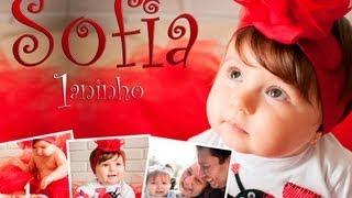 getlinkyoutube.com-Retrospectiva Animada Infantil de aniversário 1 aninho - Sofia