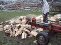 masina de spart lemne