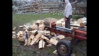 getlinkyoutube.com-masina de spart lemne