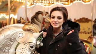getlinkyoutube.com-Mila Kunis in Harper's Bazaar - Behind the Scenes of her Photoshoot