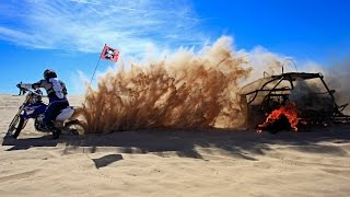 The worlds BEST way to extinguish a $30K burning RZR XP 1000!