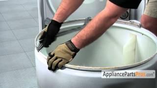 getlinkyoutube.com-Rear Dryer Drum Felt Seal - How To Replace