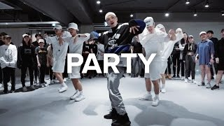 getlinkyoutube.com-Party - Chris Brown ft. Gucci Mane, Usher / Junsun Yoo Choreography