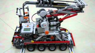 getlinkyoutube.com-LEGO NXT Platform Vehicle