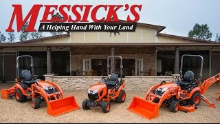 New Kubota 2017 model introductions by Messicks