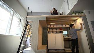 getlinkyoutube.com-You Won't Believe Everything This Tiny Loft Can Do