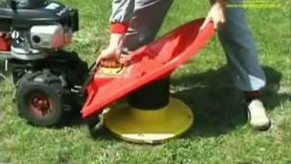 getlinkyoutube.com-Kosiarka spalinowa rotacyjna do koszenia trawy z napędem VARI SAMSON 56