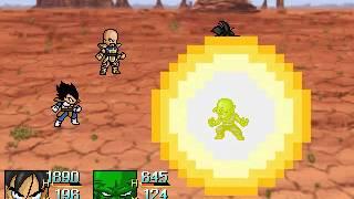 getlinkyoutube.com-RPG Maker 2003 Dragon Ball Z The Saiyans Arrive! Preview