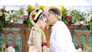 getlinkyoutube.com-Video wedding cinema Icha & nanur, adat jawa siraman, rias paes ageng