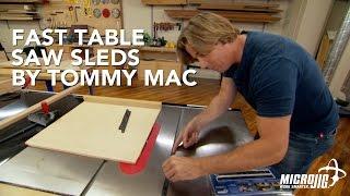 getlinkyoutube.com-Fast Table Saw Sleds by Tommy Mac