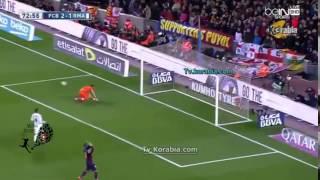 getlinkyoutube.com-ملخص ما قدمه ميسي ضد ريال مدريد . استمتع