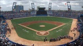 Resumen del juego Cuba vs. Tampa Bay Rays (Visita de Obama a Cuba)