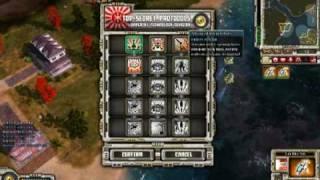 getlinkyoutube.com-Command And Conquer Red Alert 3 Uprising skirmish battle- Rising sun vs allies vs soviets part 1