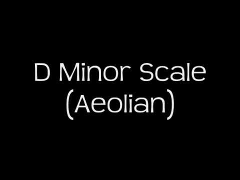 D Minor Scale (Aeolian) - Groovy Backing Track!