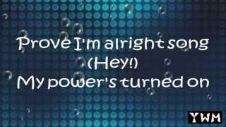 getlinkyoutube.com-Rachel Platten - Fight Song ( 1 Hour Loop & Lyric )